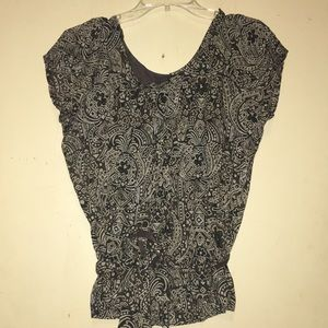 Talbots size small belted blouse
